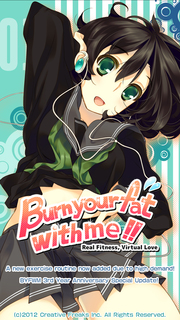 """""""Burn your fat with me!!"""""""
