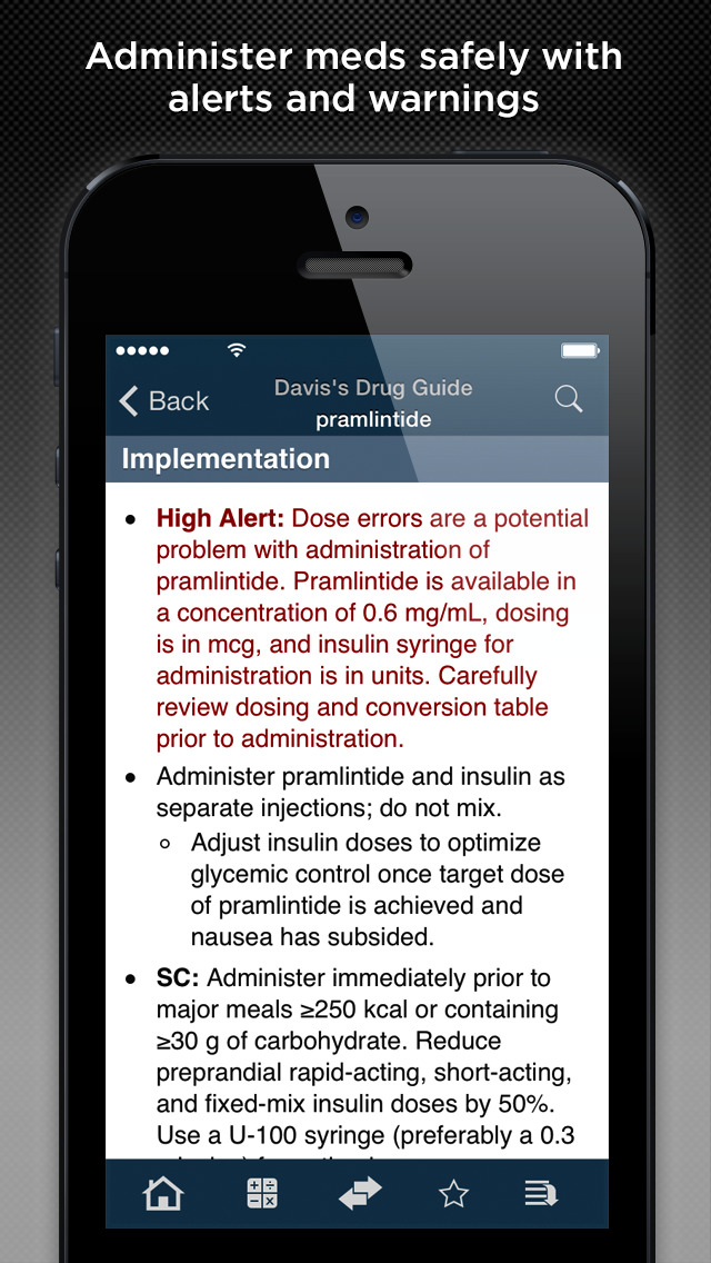 davis drug guide app for android