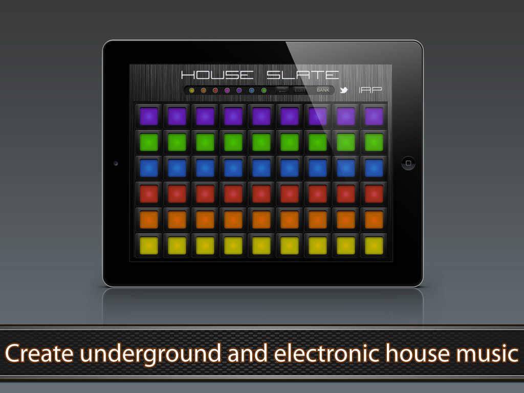 App Shopper: House Slate - House Music Pads (Music)