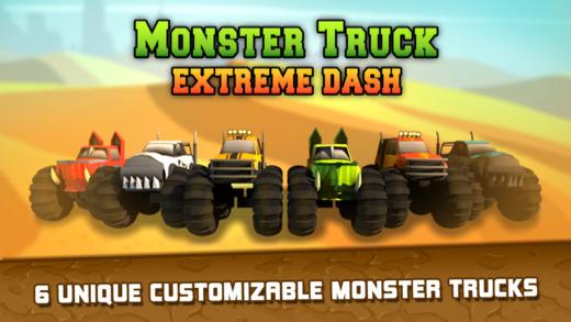 Monster Truck Extreme Dash