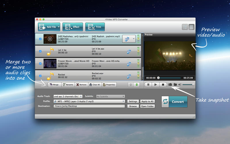 4Video MP3 Converter on the Mac App Store
