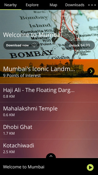 AudioCompass: Audio Travel Guide for India Agra Delhi Mumbai Taj Mahal Jaipur Kerala and many more