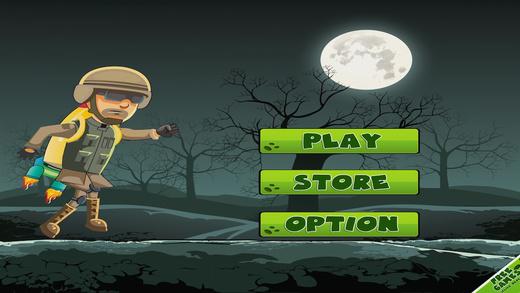 Zombie Brain Buster - Flying Hero Mania Free