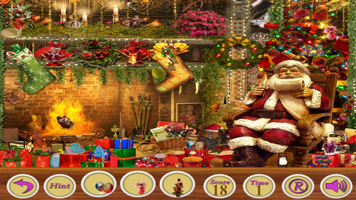 Hidden Objects:A Christmas Special