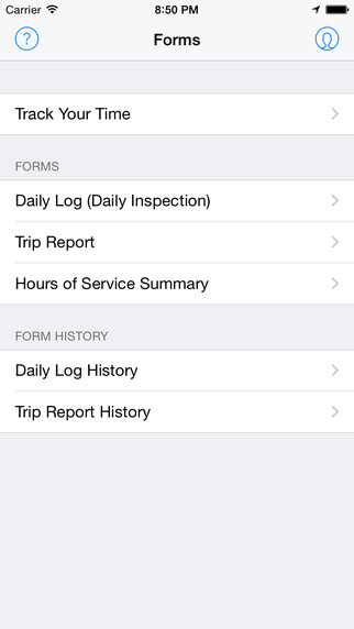 My Driver - Driver Logs Trip Reports Daily Inspections