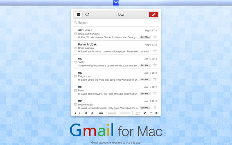 App for Gmail Email  Chat Screenshot - 1