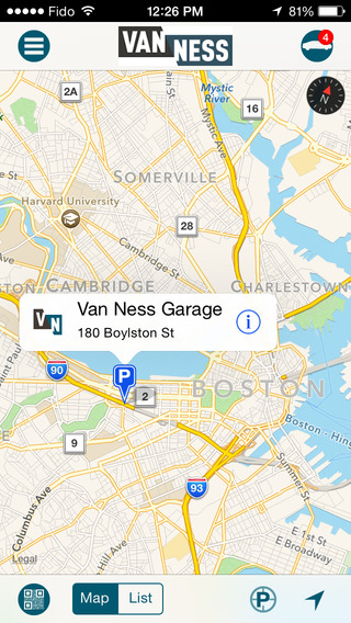 Van Ness Parking App