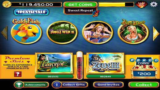 Gold fish casino slots on the app store on itunes for Gold fish casino slot