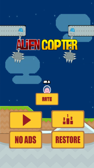 Alien Copter Abduction Fail-s : Avoiding the swing-ing Hurdle-s for a little Crazy Adventurous Exit