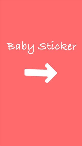 Baby Sticker - New mom Pregnancy and parenting photo tools