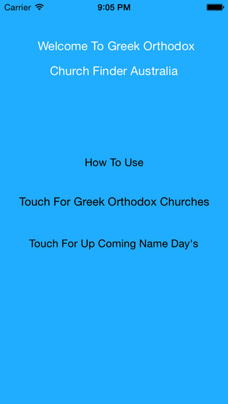 Greek Orthodox Church Finder Australia