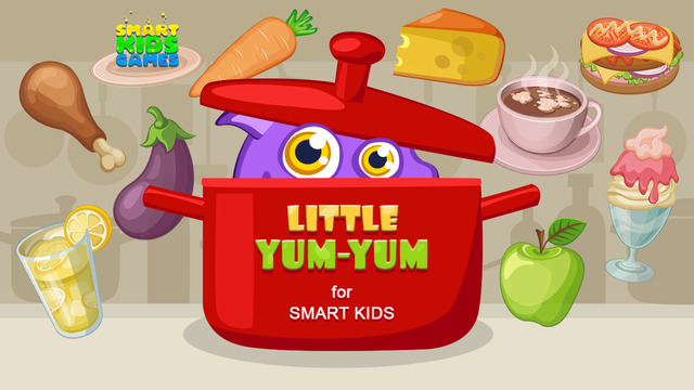 Little Yum-Yum: Yummy or Yucky Food Kids Game