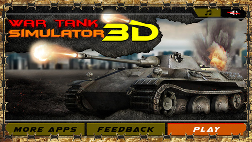 Military Tank Driver Simulator 3D – combat in the field of armored battle destroy the enemy war mach