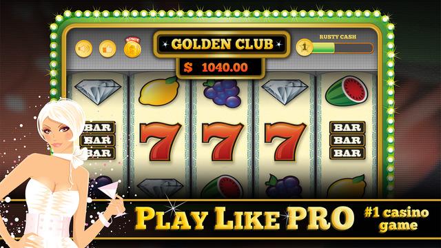 Golden Club™ PRO - offline slots with progressive 777 slot machines hourly bonus generous payouts