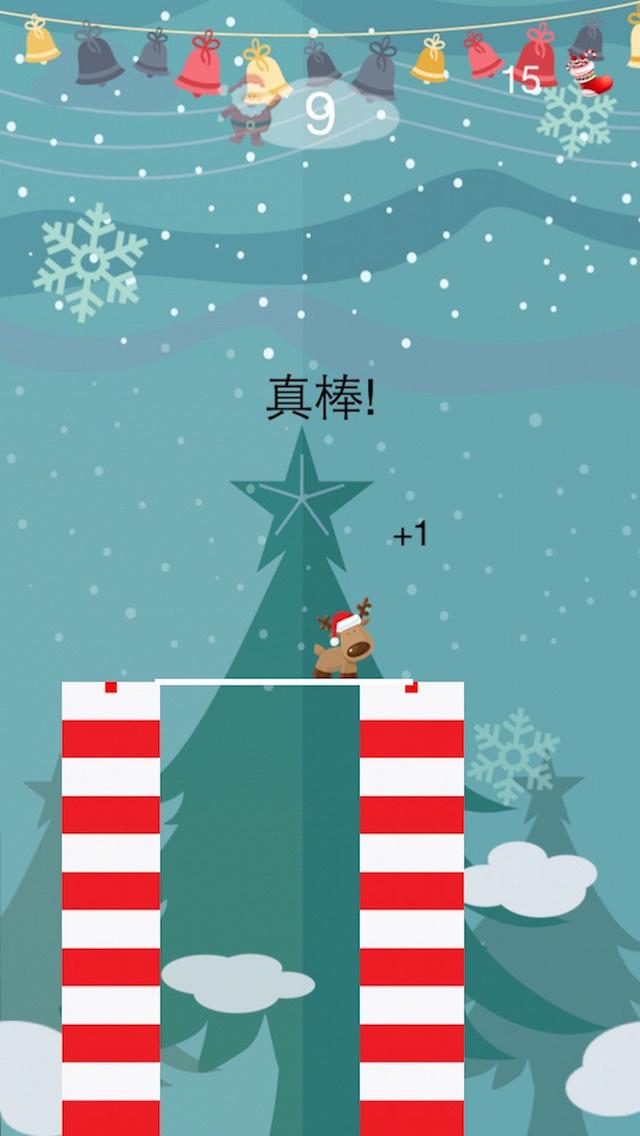 圣诞爸爸过独木桥 - 疯狂益智虐心免费小游戏