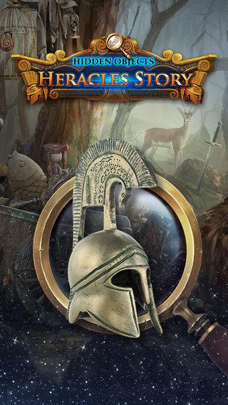 Hidden Objects: Hercules 12 stories