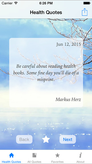 Quotes About Health : 365 Days