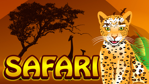 Wild Safari Journey Slots - 777 Jackpot Casino Slot Machine Pro
