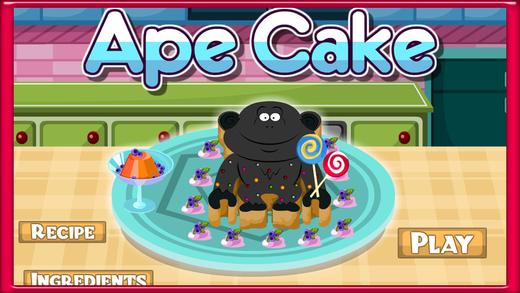 Ape Cake Cooking Game
