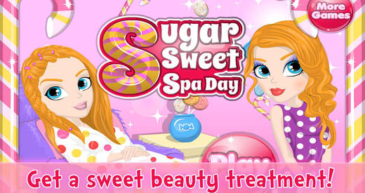 Sugar Sweet Spa Day Makeover