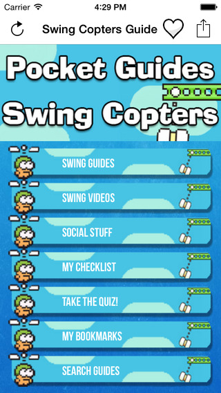 Pocket Guides: Swing Copters Edition