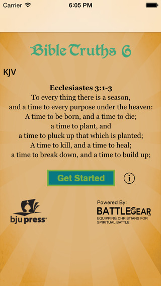 Bible Truths 6