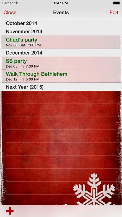 My Christmas List iPhone Screenshot 4