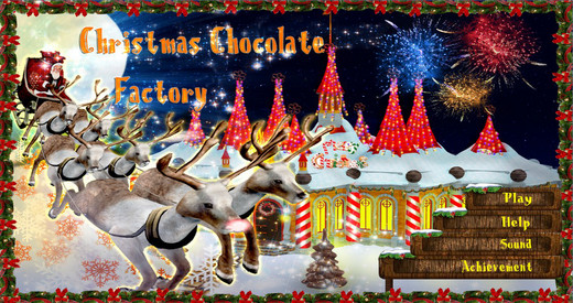 Christmas Chocolate Factory - Free Hidden Object Games