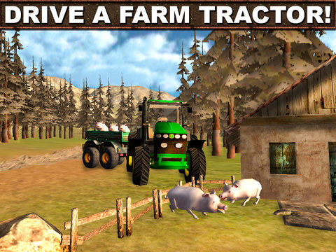 Farming Tractor Driver 3D screenshot 5