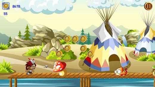 Apache Warrior 2 - Fun Adventure Running Game