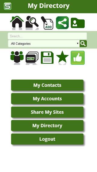 Spotgap - share web sites