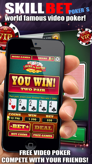 Video poker - Skillbet´s Jacks or better