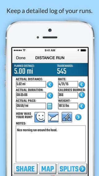 玩健康App|RunningTrax - Personalized training for runners of all abilities免費|APP試玩