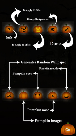 Halloween Pumpkin Maker - Dress and Create