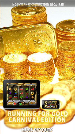 Running for Gold - Carnival Slots Edition - FREE Slot Game Las Vegas