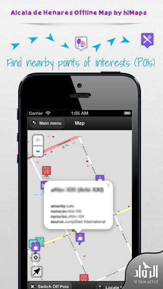 Alcala de Henares Offline Map by hiMaps