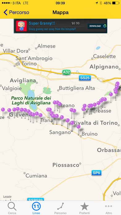 Bus Torino iPhone Screenshot 5