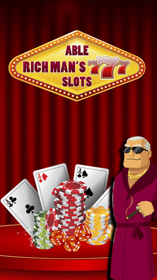 Able Rich Man's 777 Slots