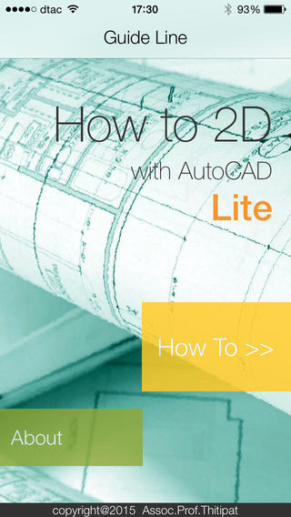 HowTo2D with AutoCAD Lite