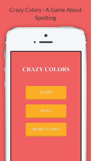 Crazy Colors - A Game About Spotting