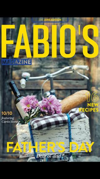 Fabio Viviani's KNOW-HOW Magazine