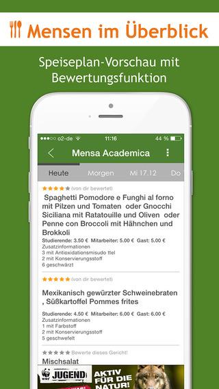 Mensa Speiseplan Events Studentenjobs Wohnen von C