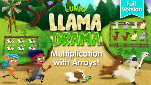 Llama Drama: Lumio Multiplication Full Version