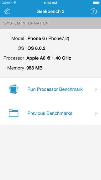 Geekbench 3 – iOS 设备跑分应用[iOS]丨反斗限免