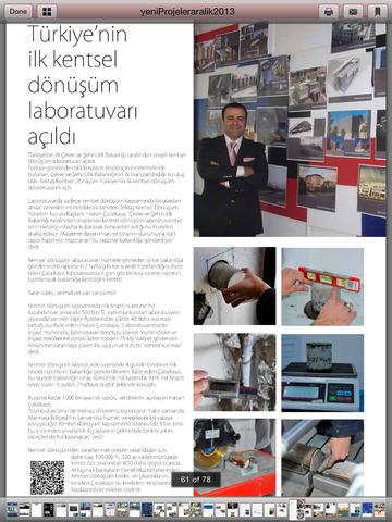 Yeni Projeler Dergi