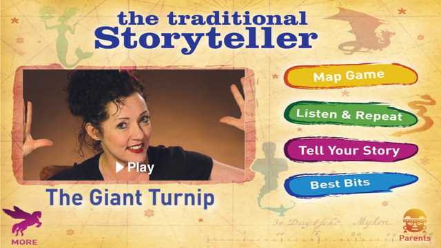 The Traditional Storyteller - The Giant Turnip