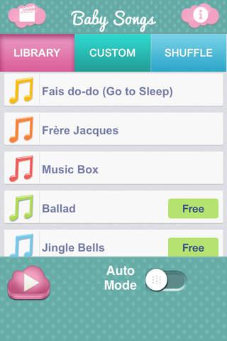 Screenshot 1 Baby Songs