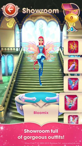 Winx Bloomix Quest: magical 3D runner