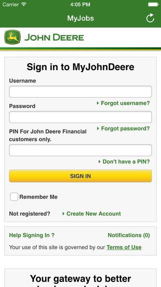 John Deere MyJobs