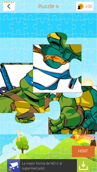 Jigsaw Puzzles for TMNT
